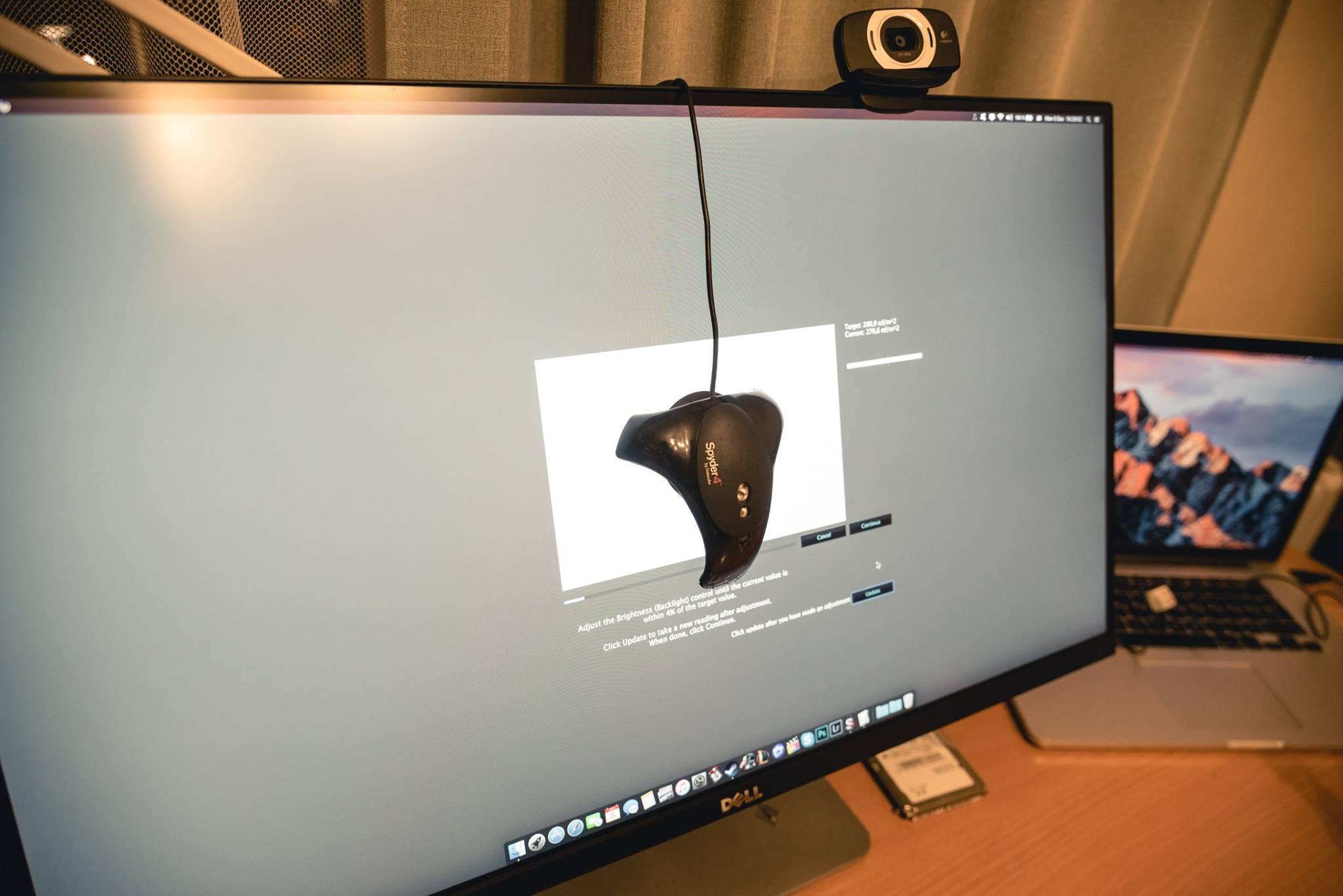Monitorių spalvų tvarkymas